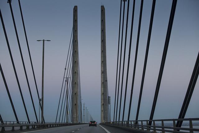 oresundsbron_bil
