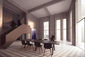 Danmarks dyraste lägenhet i gammal silo bjuds ut för 37,5 miljoner