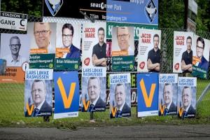 Danska exit polls publiceras när vallokalerna stängt
