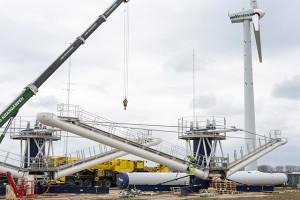 Nytt vindkraftverk med fyra rotorer testas av Vestas och DTU