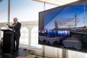 Ferring miljardsatsar på ny dansk forskningsanläggning med utsikt över Öresund mot Sverige