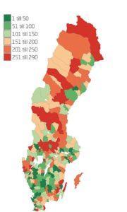 Danmarks bästa näringslivsklimat finns på Jylland – Sveriges finns kring Stockholm och i Skåne