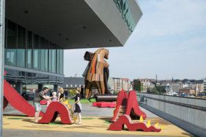 Aarhus invigde kulturhuvudstadsåret med 900 sångare och drottningbesök