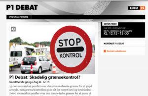 Obefintlig kontroll när Uppdrag granskning och Danmarks Radio testade gränskontrollerna
