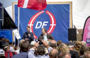 Danskarna backar upp om samarbetet mellan S och DF