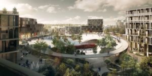 Danmark får en ny stad med 20 000 invånare – första spadtaget togs på måndagen