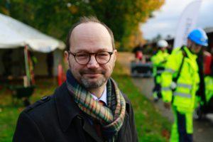 Byggandet av fyra spår mellan Malmö och Lund är igång