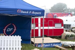 De danska regeringsförhandlingarna tar paus när Folkemødet på Bornholm inleds idag
