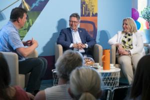 Knapp ökning av besökarna i Öresundshuset trots färre seminarier